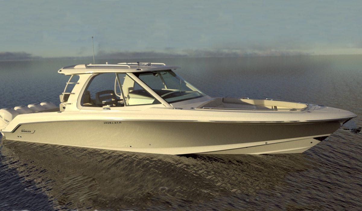 Boston Whaler 380 Realm.