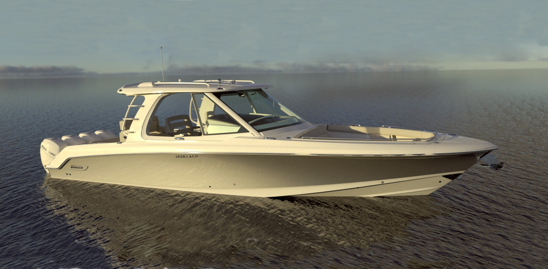 Boston Whaler 380 Realm grows up the unsinkable range