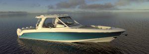Boston Whaler 380 Realm profilo