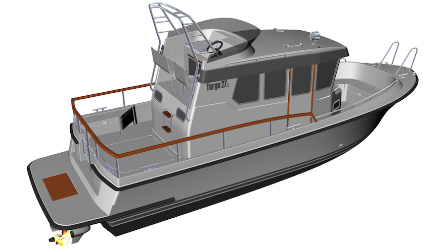 Barche a motore targa 27.2