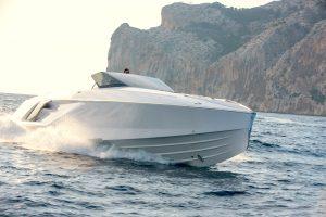 1414 Demon Frauscher barca a motore navigazione