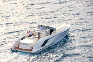 1414 Demon Frauscher barca a motore poppa navigazione