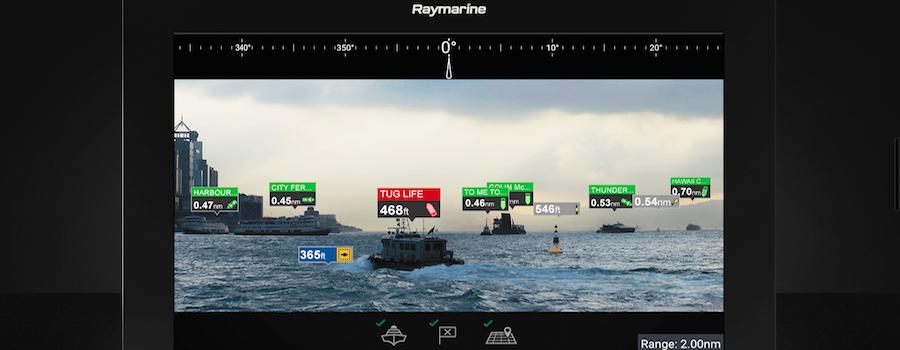 raymarine barche a motore