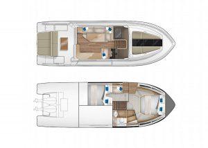 Parker Monaco 110 interior