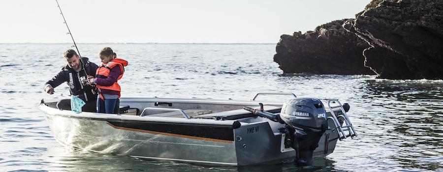 Yamaha F20 barca