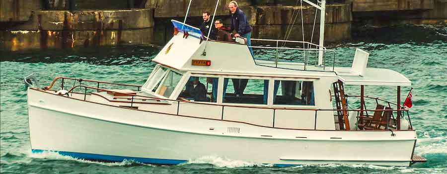 How a Grand Banks 32 was reborn for a fistful of pounds