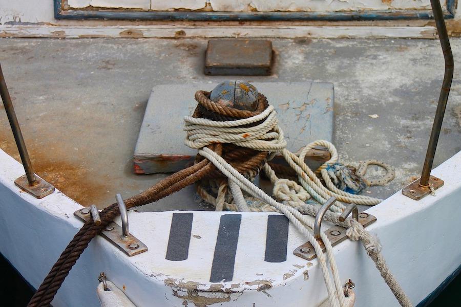 prua barca a motore