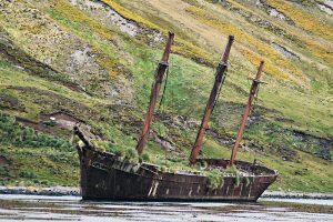 barca relitto