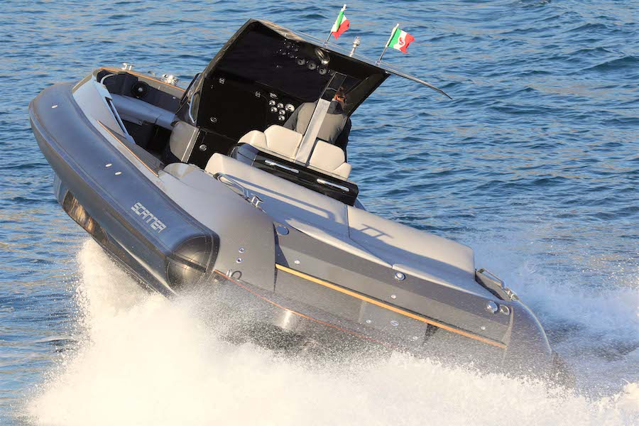 scanner envy 1100 gommone barche rib