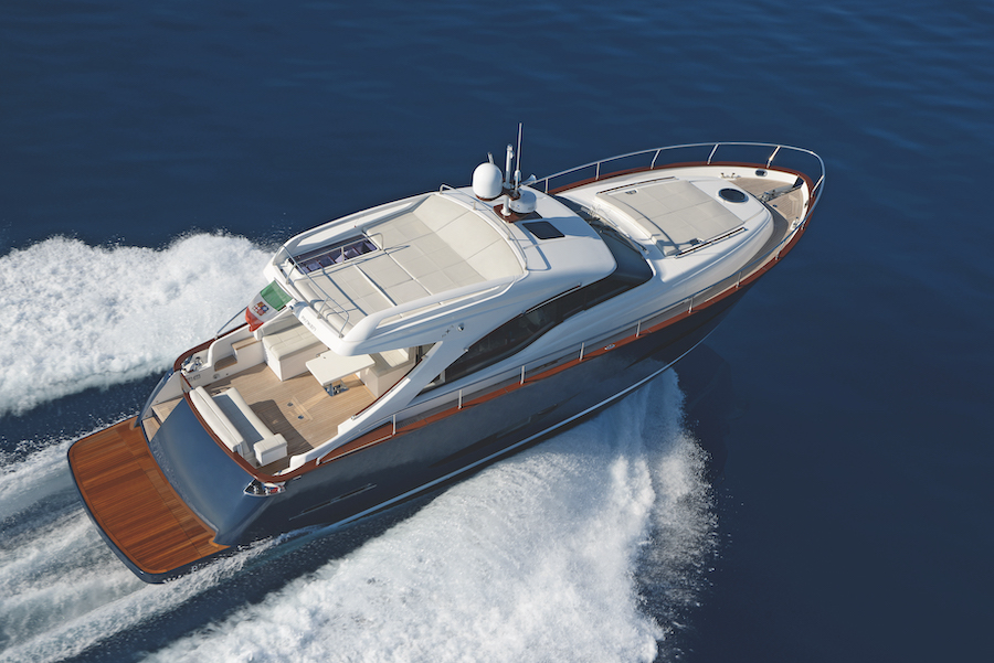 Austin Parker 48 in navigazione