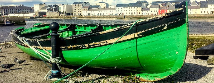 barca verde