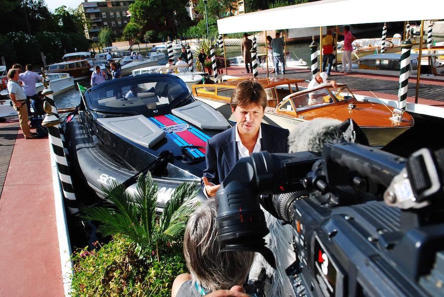 Olivier François intervistato al lancio