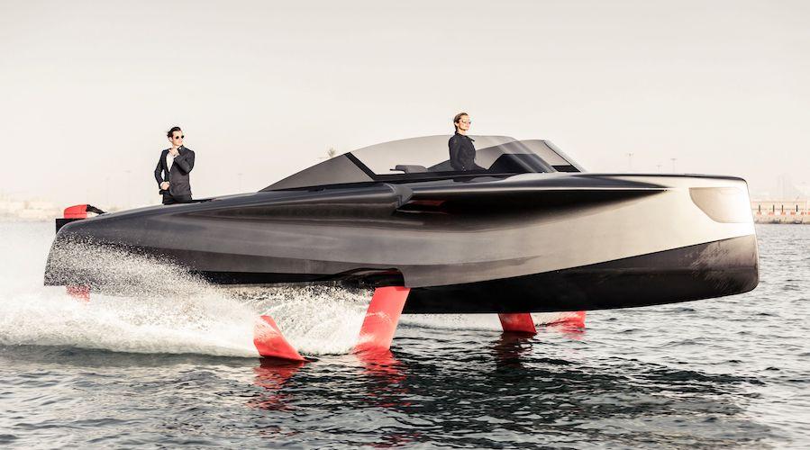 Barca volante foiler enata marine