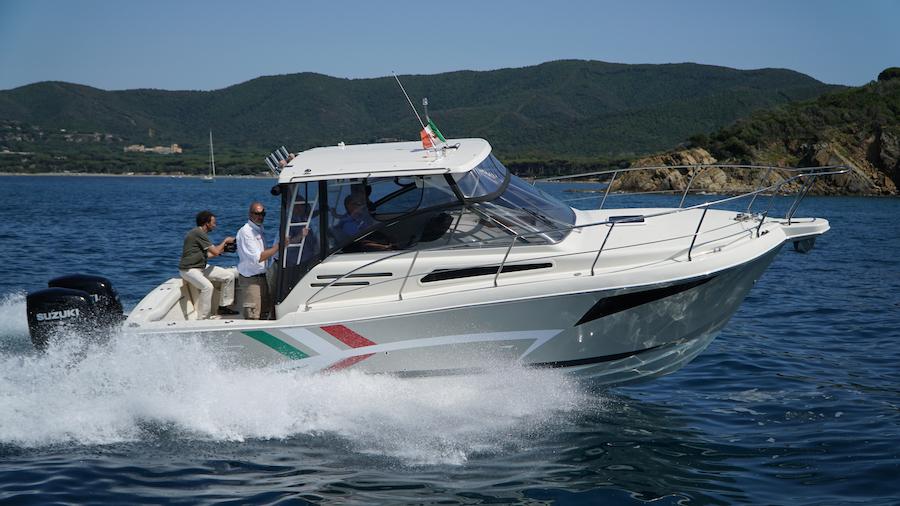 barca tuccoli 280
