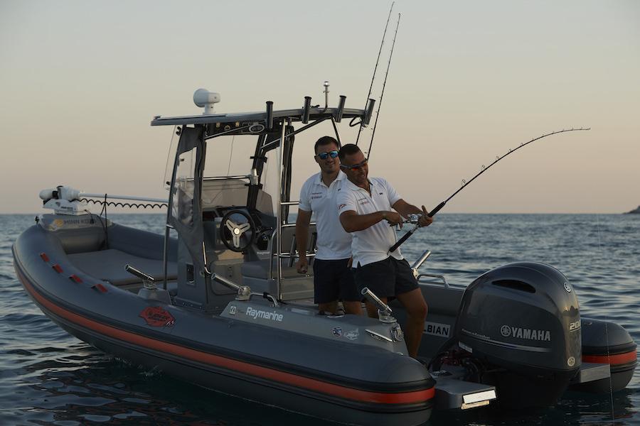 Barracuda 650: Joker e Yamaha insieme per un rib da pesca
