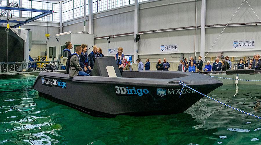 La più grande barca mai stampata