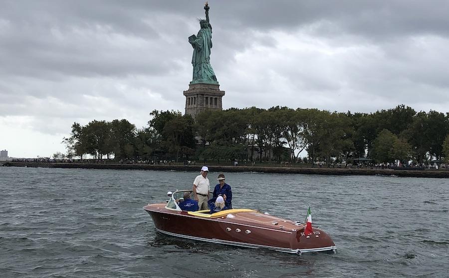 Un Riva Ariston a New York