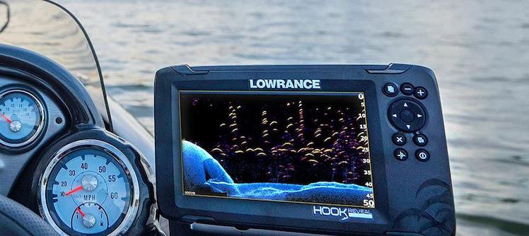 lowrance hook reveal